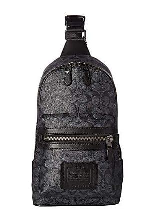Coach Academy Pack in Signature (Grey) Cross Body Handbags