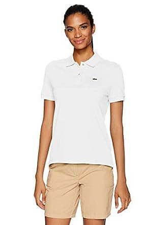 47e00fce8 Lacoste Womens Classic Fit Short Sleeve Soft Cotton Petit Piqué Polo