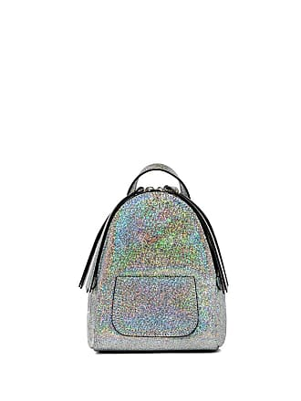 Gianni Chiarini piccolino small silver backpack