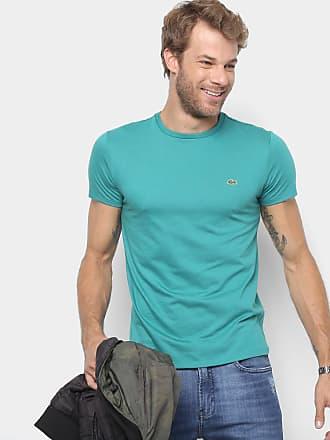e48e58778b8 Lacoste Camiseta Lacoste Básica Jersey Masculina - Masculino