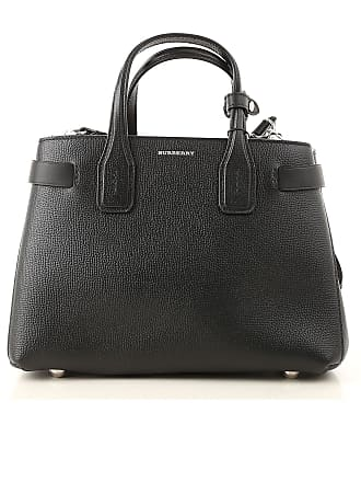78eb9397eb Burberry Borsa a Tracolla da Donna On Sale, Nero, pelle, 2017, one