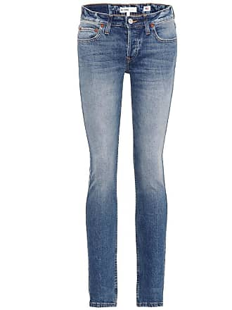 Re/Done Stack low-rise skinny jeans