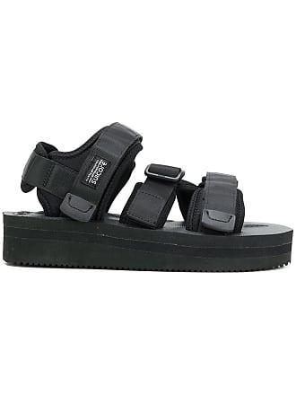 95f47b8f948a Suicoke touch-strap platform sandals - Black