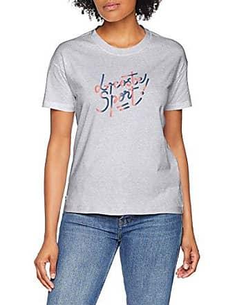 67321ef73 Lacoste Sport TF3464 T- T-Shirt, Gris (Argent Chiné/Manguier-