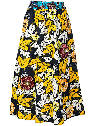 5 Progress floral print skirt - Amarelo