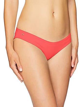 6cc2f66816a870 Maaji Womens Sublime Reversible Signature Cut Bikini Bottom Swimsuit, Samba  Bright Red/Blue Geo