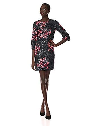 c27e87c715d Trina Turk Trina Trina Turk Womens Grenadine 3 4 Sleeve Embellished Dress