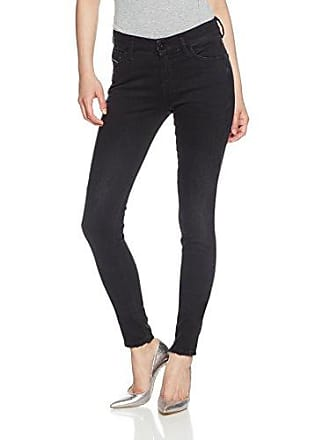 63d085f0 Diesel Damen Jeans Slandy 069BU Super Slim-Skinny Fit darkblue (83) 25/