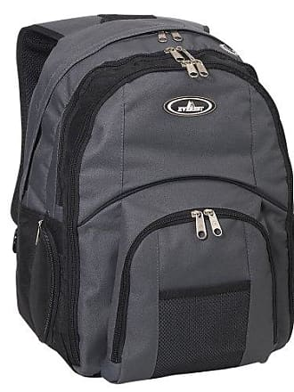 251c219c2 Everest Luggage Laptop Computer Backpack, Charcoal/Black, Charcoal/Black,  One Size