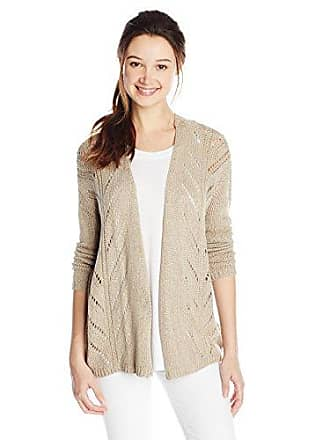 O'Neill Juniors Morgan Cardigan Sweater, Taupe Gray, Large