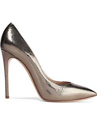 41a9957c72 Casadei Casadei Woman Printed Metallic Leather Pumps Gold Size 38.5