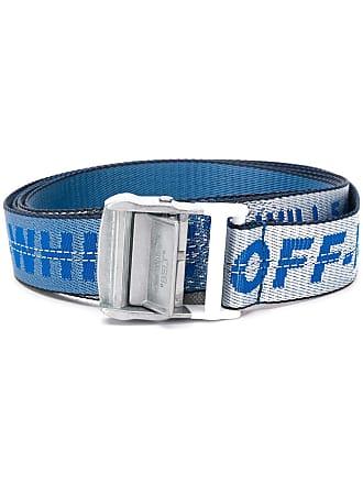 Off-white industrial logo belt - Azul