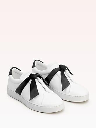 Alexandre Birman Clarita Leather Sneaker - 35 Black Leather