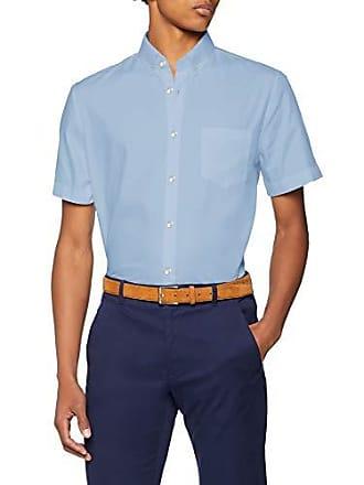 4f4f112ae3e Lacoste CH9612 Chemise habillée Homme Bleu (Noir Phoenix Lagon Nsv) Medium ( Taille