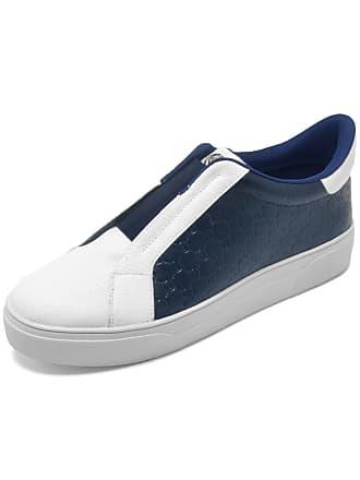Dumond Tênis Dumond Texturizado Azul/Branco