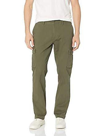 2d86916acdd64 Amazon Essentials Slim-Fit Cargo Pant Casual, Vert Olive, 33W x 30L