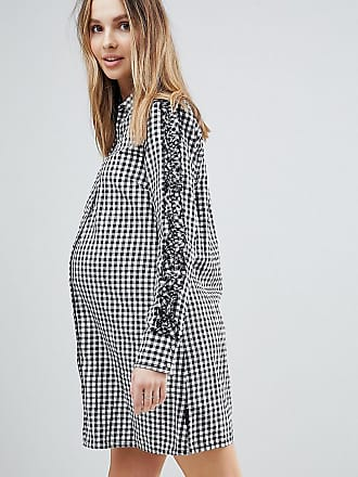 Noppies Maternity Gingham Shirt Dress - Black