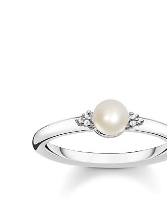 5807427d7588 Thomas Sabo Thomas Sabo anillo con perla blanco D TR0039-765-14-48
