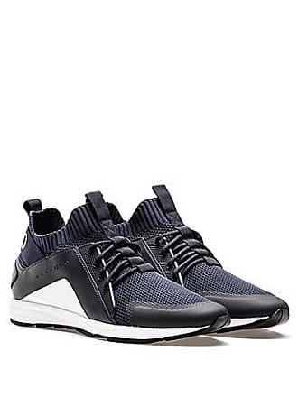 quality design 10912 00bea HUGO BOSS Sneakers im Laufschuh-Stil mit Vibram-Sohlen und Stricksocken