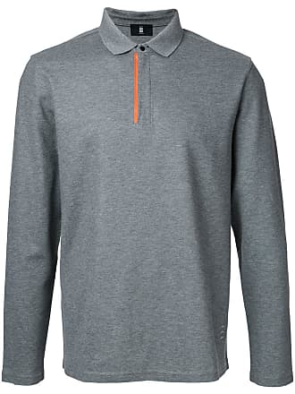 0ea4db38681 Kent   Curwen long-sleeve polo shirt - Grey