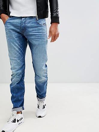 G-Star Arc 3d - Jeans med smal passform i lätt åldrad finish - Lt 192310aadc5b0
