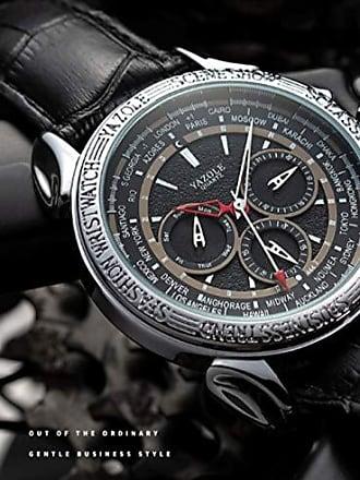 Yazole Relógio Grande Masculino Yazole D444 Social (1)