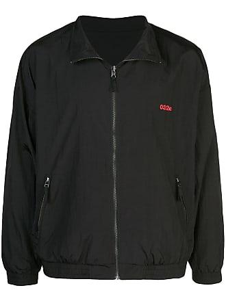 032c zipped-up jacket - Black