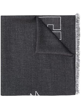 Philipp Plein Echarpe com logo - Preto