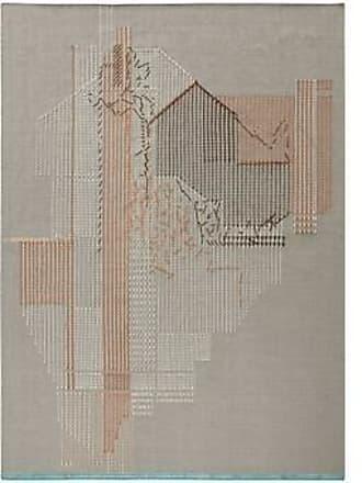 GAN Rugs Teppich Backstitch Composition Brick