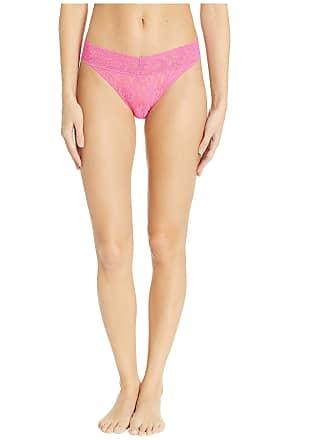 8419b22d2da7 Hanky Panky Womens Signature Lace Original Rise Thong Flamboyant Pink One  Size