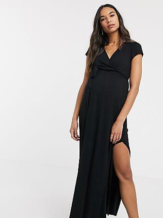 Asos : Robes Portefeuille en Noir jusqu'à −76% | Stylight