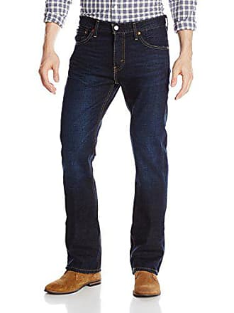 Levi's Mens 527 Slim Boot Cut Fit Jean, Indigo Black, 36x30