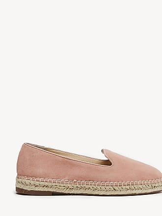 Sole Society Womens Sammah Espadrille Smoking Slippers Coral Dust Size 8 Haircalf From Sole Society