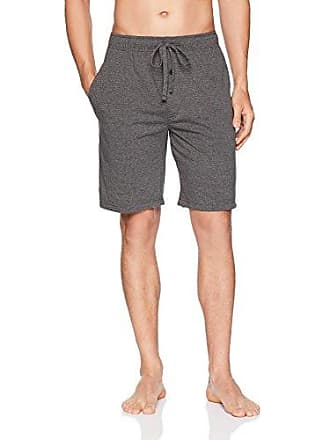 Fruit Of The Loom Mens Breathable Mesh Pajama Short, Charcoal, 2XL