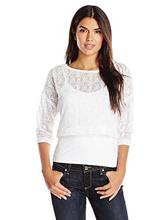 Only Hearts Womens Blanca Cropped Sweatshirt, White, Medium