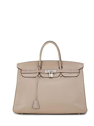 Hermès Clemence Birkin 40 Satchel Bag
