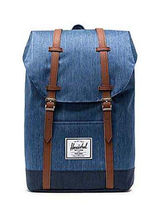 Herschel Retreat Backpack, Faded Indigo Denim, One Size