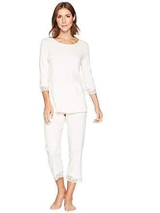 ac9c55d9c6 Hanro Valencia Nw Pyjama 3/4 Arm, Pigiama Donna, Beige (Vanilla 1203