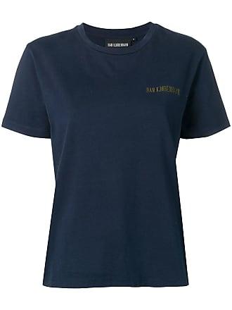 Han Kjobenhavn Camiseta com logo bordado - Azul