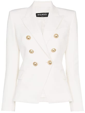 09d6ed3a98 Balmain double-breasted blazer - Branco