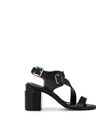 87afb18d5 Robert Clergerie Womens Alba Leather Multi-Strap Sandals - Black Size 6.5