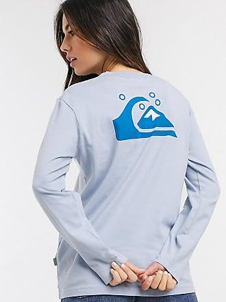 Quiksilver Standard - Maglietta a maniche lunghe blu - In esclusiva per ASOS