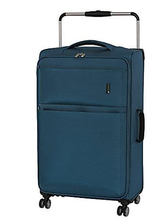 IT Luggage Worlds Lightest Debonair 31.5 8-Wheel Spinner, Two Tone Blue