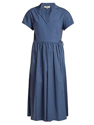 Sea New York Calah Cotton Midi Dress - Womens - Blue