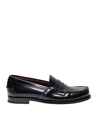 7ec141d1be8 Prada Loafers in black brushed leather