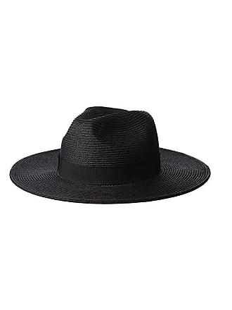 e347b9ba954a14 Scala Paper Braid Big Brim Fedora (Black) Caps