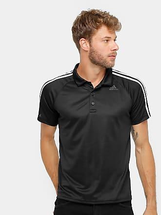 adidas Camisa Polo Adidas D2M 3S Masculina - Masculino 9201b26791cad