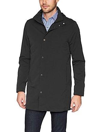 J.Lindeberg Mens Tech Nylon Coat, Black, Medium