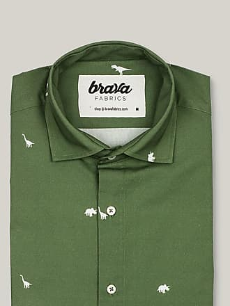 Brava Fabrics Jurassic Adventure Printed Short Sleeve Shirt