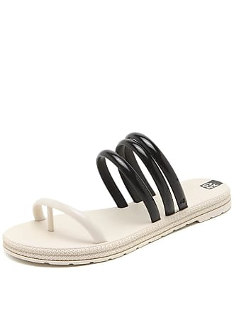 Zaxy Rasteira Zaxy Holiday Chin Ad Off-White/Preto